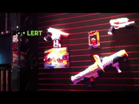 Zoolert 2011 nerf super soaker gun overview new york toy fair