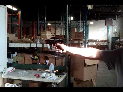 Jackal Full Auto Machine Gun Blank Firing Pistol Demo