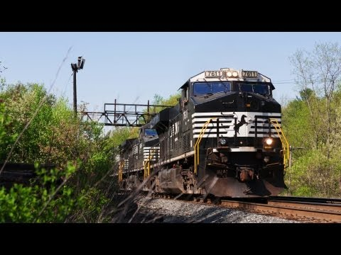 Time Lapse: NS Coal Drag on Pan Am Southern