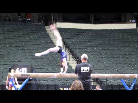 Chellsie Memmel - 2011 Visa Championships Podium Training - Beam