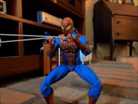 Spiderman stop motion movie
