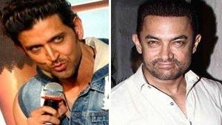 Hrithik Roshan calls Aamir Khan CHEATER