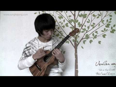 (Beatles) While My Guitar Gently Weeps - Sungha Jung (Ukulele)