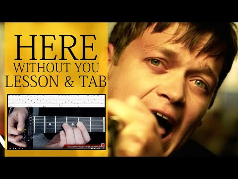 Guitar Lesson: Here Without You 1 3 - 3 Doors Down - How To Play Intro&verse video