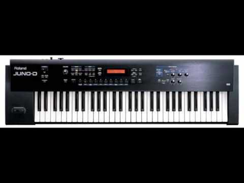 Roland Juno D synthesizer DEMO Wind Pad patch new age song