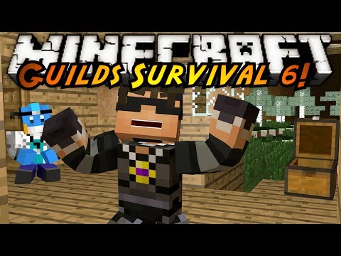 Minecraft Guilds Survival : WE'VE BEEN GRIEFED!