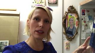 Upcoming Solo Show - Studio Preview. Art Vlog #8