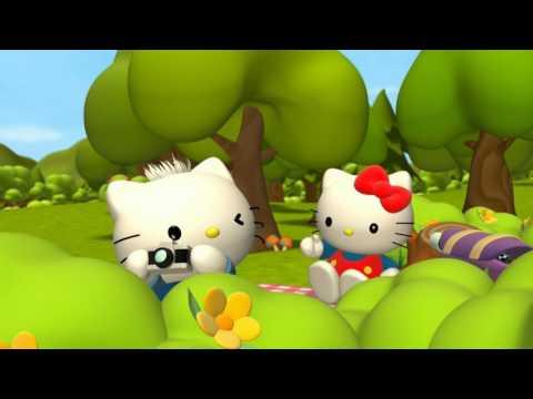 Приключения Хелло Китти и ее друзей  Hello Kitty & Friends  идеальная картина  Мультики для детей