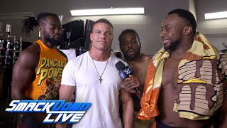 The New Day celebrates their victory with Tyson Kidd & others: SmackDown Exclusive, July 24, 2018