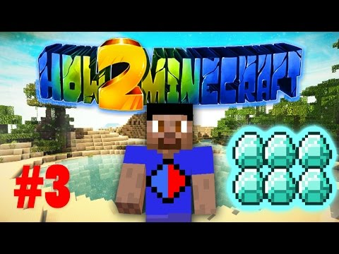 Minecraft SMP HOW TO MINECRAFT S2 #3 'DIAMOND MINING!' with Vikkstar