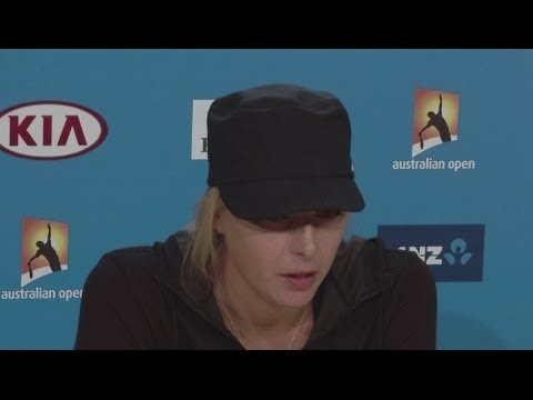 Sharapova satisfied, but needs improvement