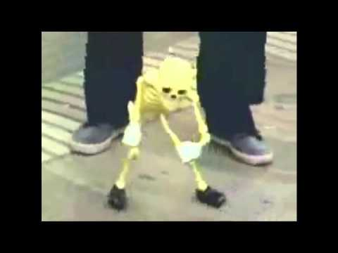 Dancing Skeleton Man with different songs