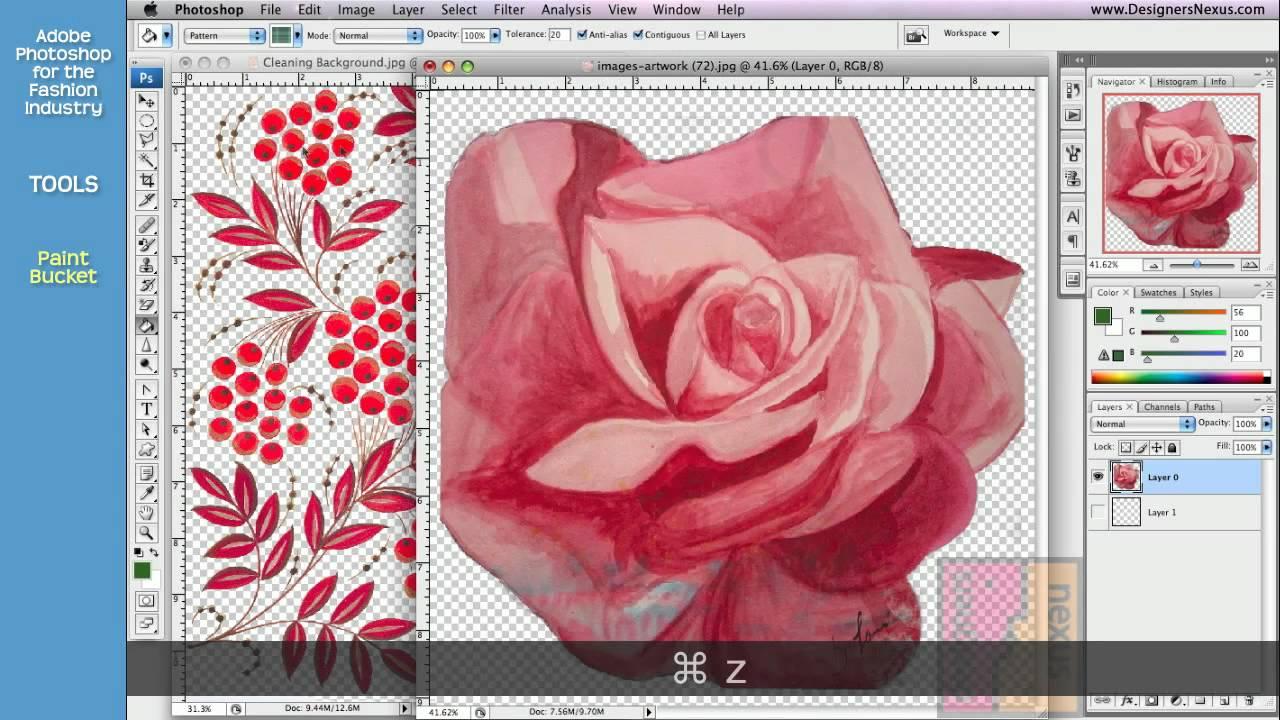 Photoshop Tutorial For Fashion Design 07 24 Tools