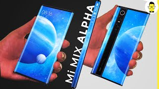 Mi Mix Alpha is a stunner | first look and analysis | will it come to India?