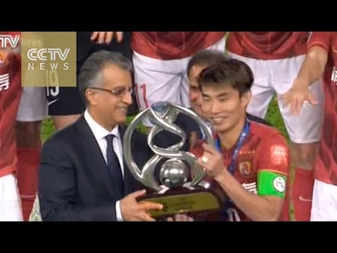 Guangzhou Evergrande wins 2015 AFC Champions League