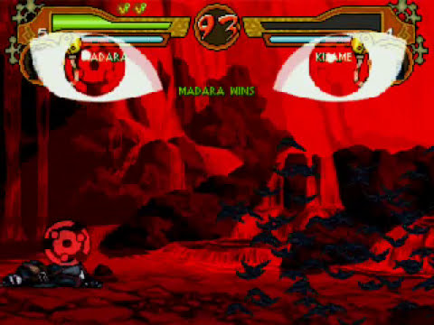 Naruto Storm M.U.G.E.N Madara Gameplay