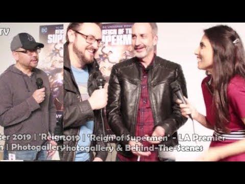 Reign Of The Supermen | Sam Liu, Jim Krieg & Tim Sheridan | Director & Writers | Interview
