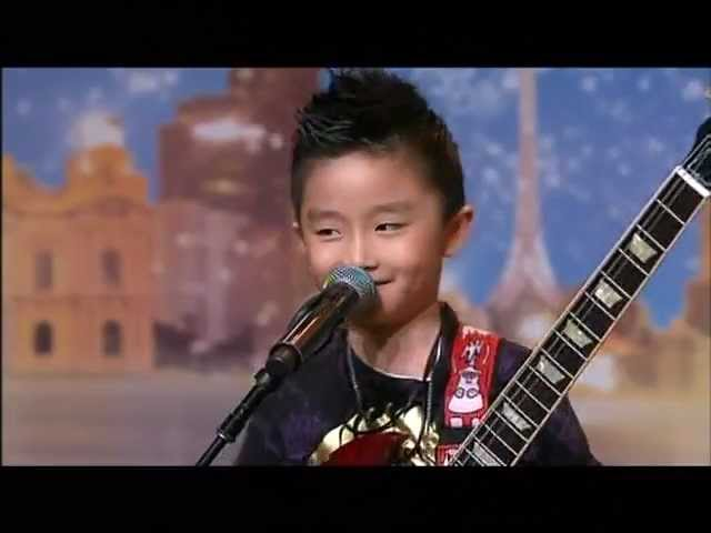 Jeremy Yong - Kid Guitarist - Australia's Got Talent 2012 audition 7 [FULL]