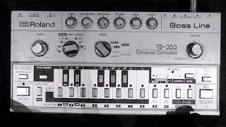 Learn how to program and use a Roland TB 303 or TB 03 Bass Line Basic Features