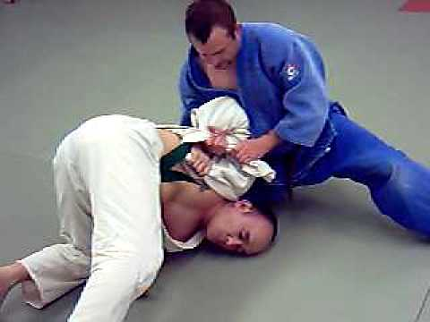 Judo Ne-Waza Turn Over by David Loshelder Image 1