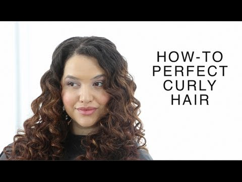 perfect curly hair how to youtube