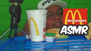 ASMR McDonalds *Indonesia (Cheeseburger,McNugggets,Frenchfries) EATING SOUND NO TALKING | RAD-ASMR