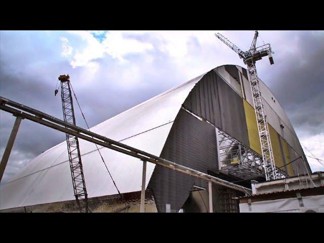 Ein neuer Sarkophag für Tschernobyl