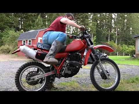 Motorcycle Kicks like a Mule! - XR500R
