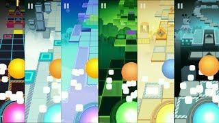 Rolling Sky All Bonuses levels - Complete - Illusion, Monody, Candy, 8Bit, Matrix, Joker