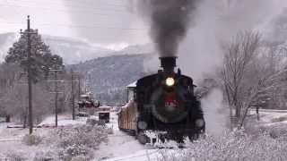 The Day After Christmas - Winter Steam on the Durango and Silverton