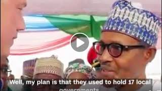"""BUHARI: """"NOBODY WOULD UNSEAT ME"""" during CNN interview 