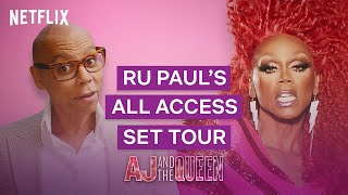 RuPaul's All Access Behind the Scenes Tour | AJ and the Queen | Netflix