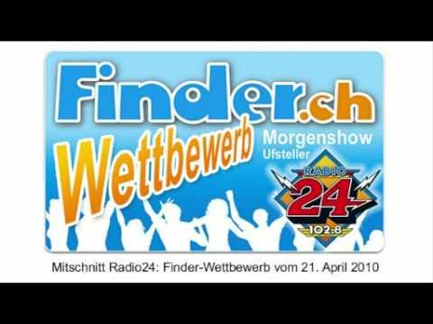 finder.ch-Wettbewerb auf Radio24 21.04.2010