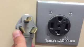 How to Replace a Dryer Cord that is Wrong (3 vs. 4 Prong Plug)