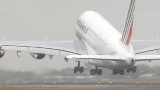 Airbus A380 Take-Offs, Landings, In Flights [HD]