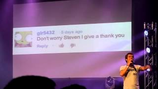 JACKSFILMS DOING YOUR GRAMMAR SUCKS LIVE AT PLAYLIST LIVE 2013!