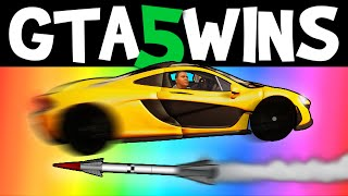 GTA 5 WINS – EP. 15 (GTA 5 Stunts, GTA 5 Funny Moments online Grand Theft Auto V Gameplay)