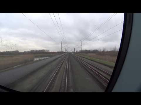 Cabinerit Breda - Den Haag via de HSL