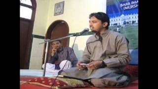 Nayab Nusairi Hoja ( Syed Tanvir Ali Hassani 20th Feb. 2011 at Ancholi-Karachi)