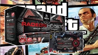 GTA V - i3 2100 - 4gb - XFX Ati Radeon HD 5670 1gb