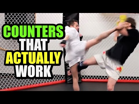 3 Basic Ways To Counter Roundhouse Kicks | Kickboxing MMA TMA (Kwonkicker) Image 1