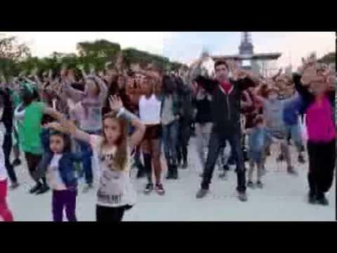 Paris Celebrates 50th Anniversary of Martin Luther King Speech, MLK Flash Mob Paris Video