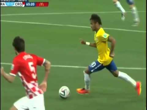 Brazil-Croatia 6-12-14 Non-Foul