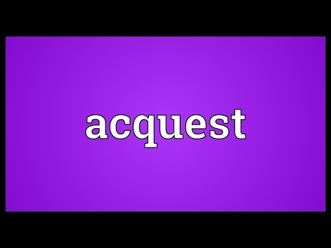 Header of acquest