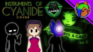 (BENDY SONG COVER) Instruments of Cyanide ft. Lulu Grey Sings and Josh Kernel (Song by DAGames)