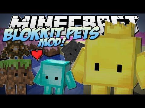Minecraft   Blokkit Pets Mod