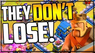 THEY DON'T LOSE! Clash of Clans INSANE Attacks from PRO Players!