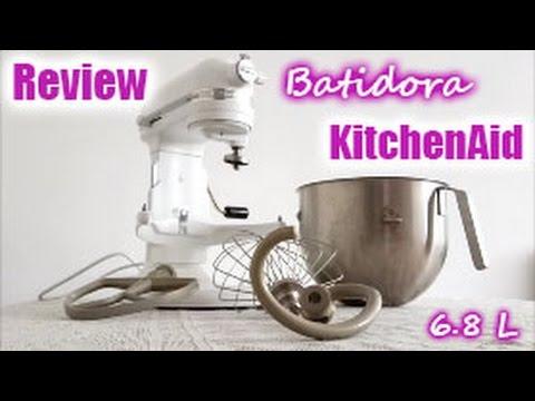 REVIEW DE BATIDORA KITCHENAID. HEAVY DUTY 6.8 L / EN ESPAÑOL I Ale te cuenta