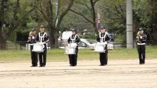[20091010]防衛医大x並木祭xドラムメジャー準備練習