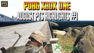 PUBG Xbox One - August PTS (Test Server) Highlights #1 (PlayerUnknown's Battlegrounds)